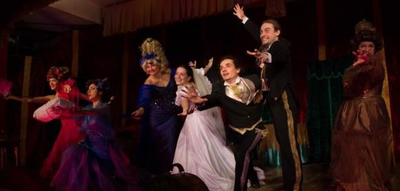 8 марта поздравили спектаклем в Черноморске , а 17-го марта премьера в Одессе